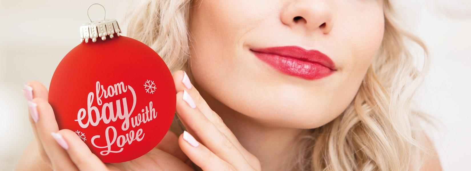 Außergewöhnliche Weihnachtskugeln.Krebs Sohn Weihnachtskugeln Mit Logodruck